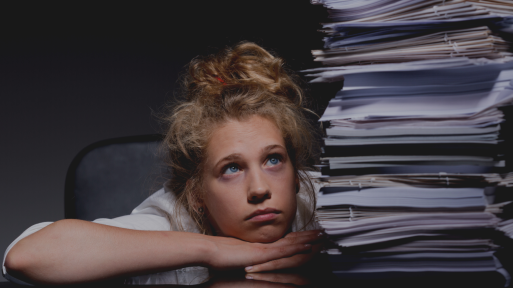 how can we help our teens reduce overwhelm